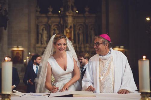 Un évêque heureux